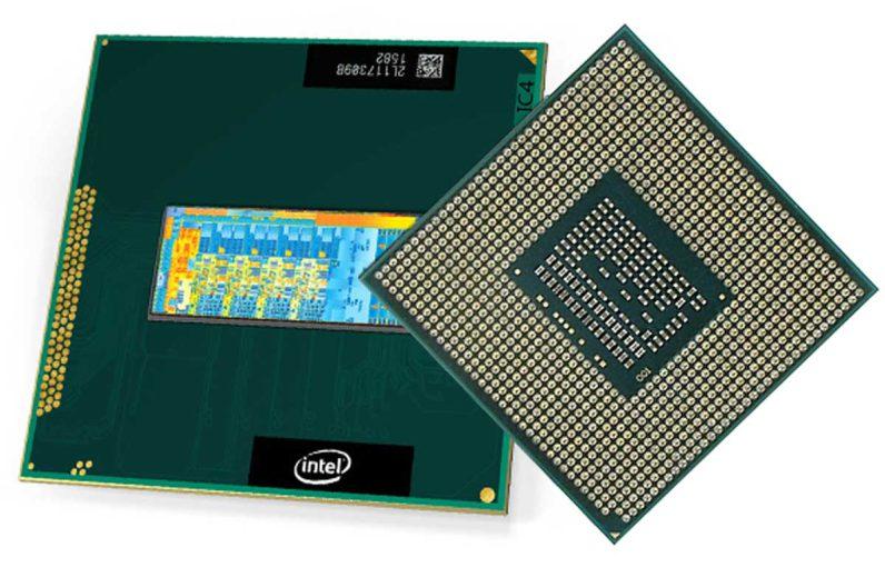 Laptop processors