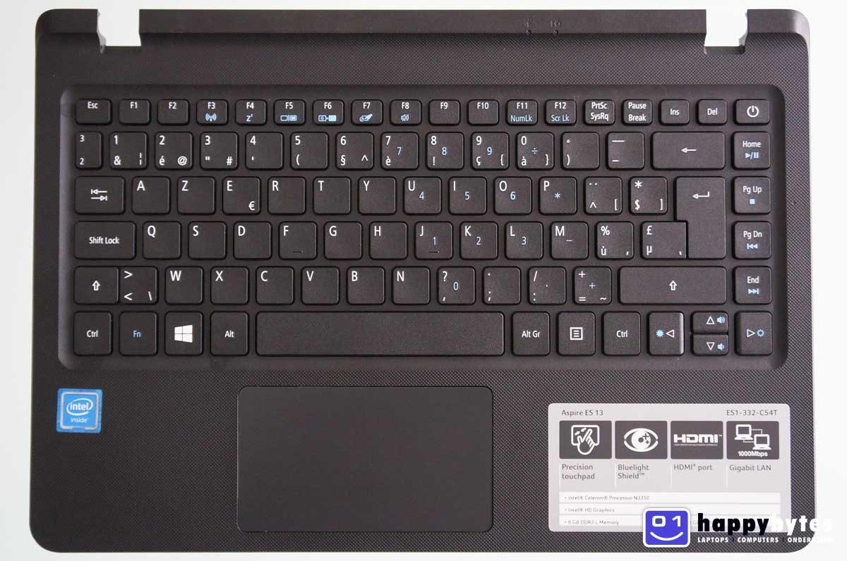 Verrassend Acer Aspire E13 ES1-332 palmrest inclusief AZERTY (BE) toetsenbord SK-14