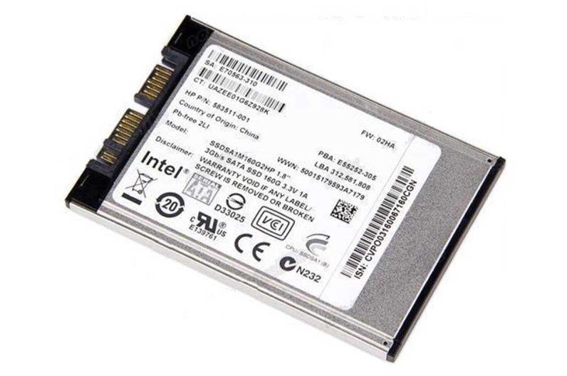 """Laptop harde schijf - micro SATA 1.8"""""""